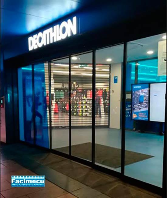 Decathlon confía en nuestros cierres enrollables
