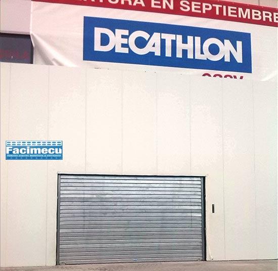Cierre modelo FC115 galvanizado para Decathlon