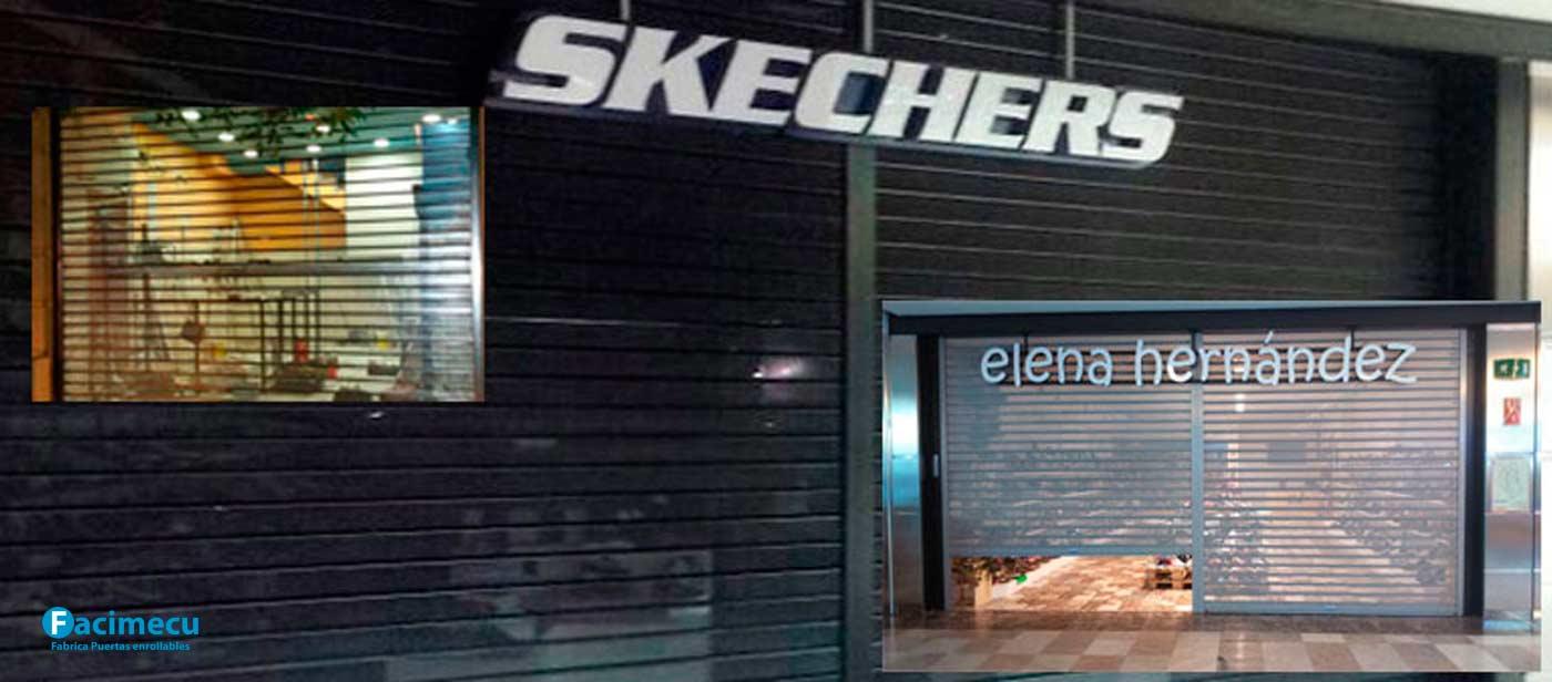 los cierres metálicos en Madrid deben de ser microperforados