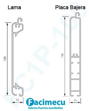 Perfil lama FC1P-100