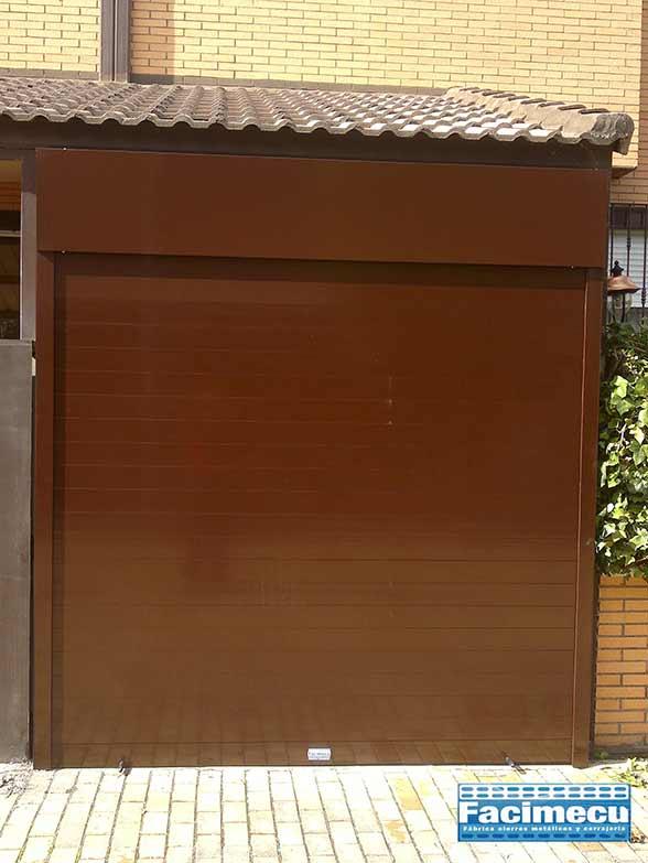 Puerta enrollable modelo FC1P- 100