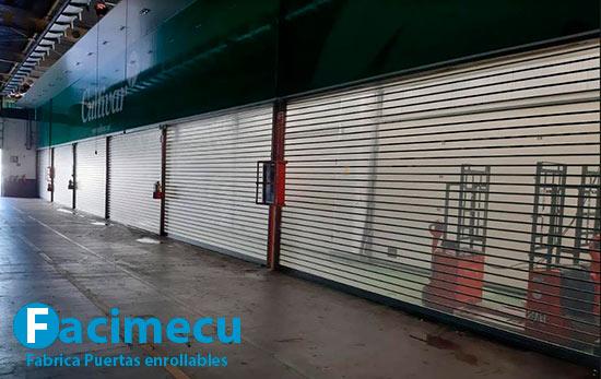 Puertas enrollables de grandes dimensiones lama FC115
