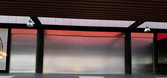 Cierres enrollables ciegos para Carrefour