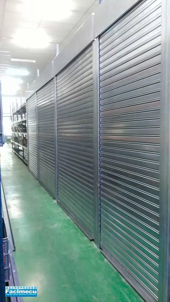 cierres metálicos enrollables lama Facimecu FC 85 acero galvanizado
