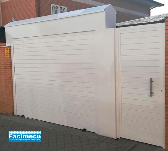 Puerta enrollable aluminio extrusiónado lama FC1P_100