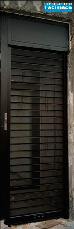 Puerta enrollable Facimecu lama FC115 microperforado