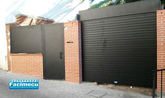 Puerta enrollable anluminio extrusionado lama FC 2P 80