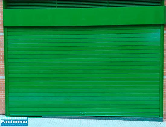 Puerta enrollable automatizada lama FC115