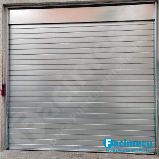 Puerta enrollable, lama ciega galvanizada lama FC115