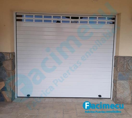 Puertas enrollables para garajes