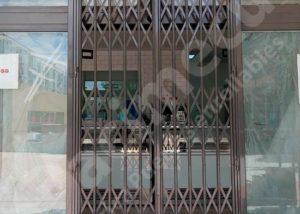 Puerta de ballesta lacada al horno en RAL